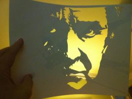 Johnny Cash ITW by Stencils-by-Chase
