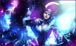 Signature Ahri - League of Legends by Ellanna-Graph