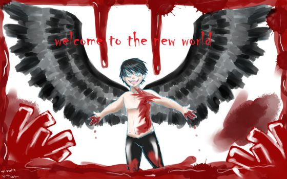 welcome to the new world by kittyface27