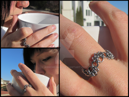 MicroBubbles Ring by ArmoredKoi