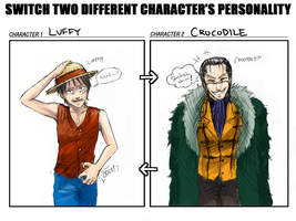 OP - Personality switch meme by FerioWind