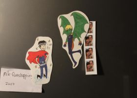 Wiccan and Hulkling magnets by WeasleyTwin