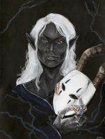 Traditional Gift- The man behind the Mask by Lilith-the-5th