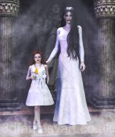 Lillith and Eris Commission for Devianttwins14 by 3D-Fantasy-Art