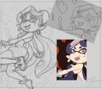 Splatoon commission wip by 14-bis