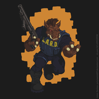 Duke Nukem 3d Steam Card - Pigcop by Polymental69