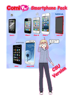 [DL] Comipo Smartphone Pack by Lady-Manson