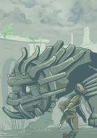Day 18: Shadow of the Colossus - Cenobia by lookhappy