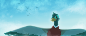 The Guard Duck by DetectiveRJ