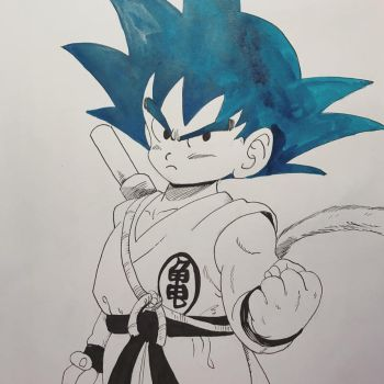 son goku by NihoAme