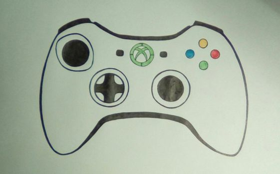 Xbox 360 controller by jawldeen
