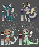 Anthro adopts 01 [CLOSED] by PsykoaktiveFantasi