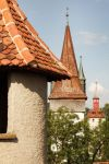 Towers on Lucerne's city wall 1 by wildplaces