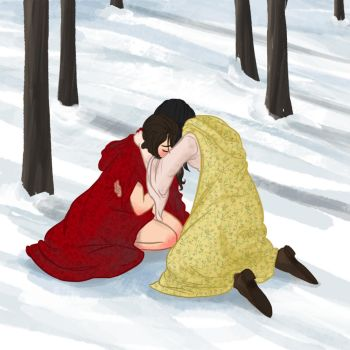 OUAT - Red and Snow by fortheloveofpizza