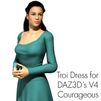 Troi Dress for V4 Courageous by timberoo
