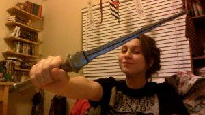 Completed Angel Sword Prop by MissTimeLord