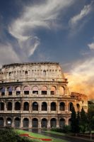 Colosseum in Rome by Rubensphoto