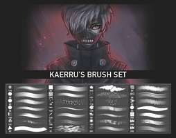 kaerru's brush set by kaerru