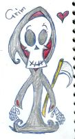 Chibi Doodle Grim by Kittychan2005