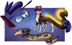 Character Card Lupa by TechTalkPony