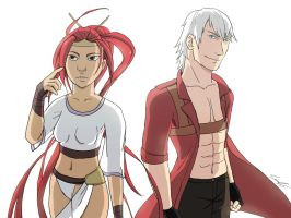 Abnormal Alliances: Nariko and Dante by xxelegantbeautyxx