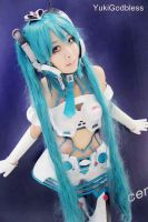 YukiGodbless as Miku Racing Queen 2012 by yukigodbless
