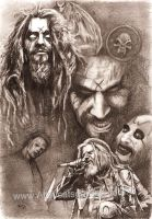 Rob Zombie by Alleycatsgarden