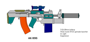 AK-99S by scifibug