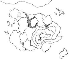 Blank Map of Ahza by Angulique