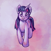 265-TwilightSparkle by Vogelspinne