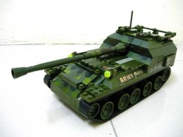 Russian WWII SPG Tank 1 by SOS101
