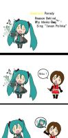 Vocaloid Parody: Ievan Polkka2 by Itchy-Hands