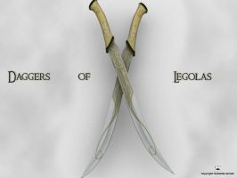 Daggers of Legolas by kreativemente