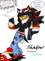 Shadow the hedgehog iPOD Mimy by Mimy92Sonadow