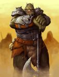 Commission - The Gamorrean Warlord by DioMahesa
