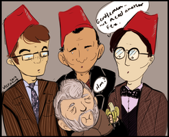 John Hurt joins the Fez club by Velexane