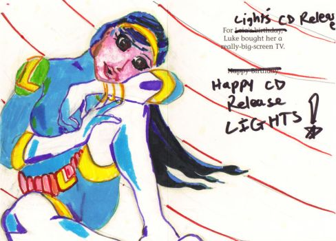 Lights Card Deco by Scarletkid