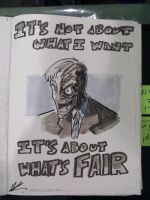 Ohio Sketch: Two- Face by AndrewKwan