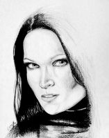 Quick Tarja drawing by ArtGoldArt