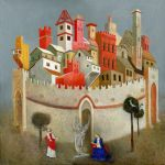 Before the City Gate. 2004 by Yudaev