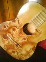 Airbrush guitar by LubomirKostial