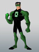 Green Lantern Redesign by payno0