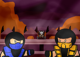 MORTAL KOMBAT by Nazo2X3M