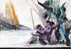 Fulltilt , Sixshot ,Trypticon by marble-v