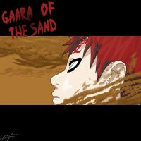 Gaara of the sand by clayton1313