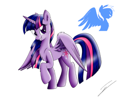 Princess Twilight Sparkle by ShiveringCanvas