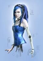 Cybernetic Blue by NeaN