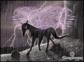 - Thunderstorm - by Lilafly