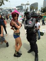 Sam Fisher meets Revy from Black Lagoon by W4RH0US3