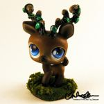 Forest Spirit Elk Custom LPS by thatg33kgirl